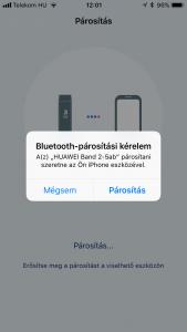 Huawei Band 2 pro teszt