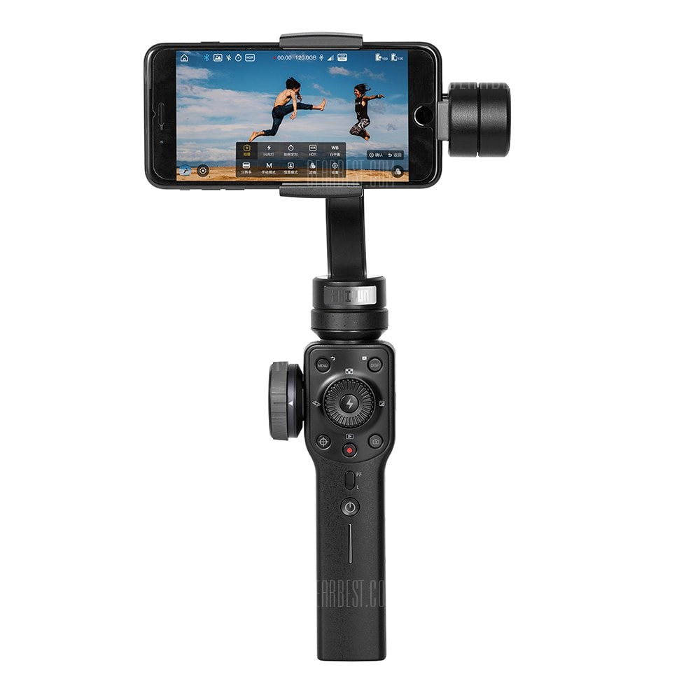 Zhiyun Smooth 4 Handheld Gimbal PhoneGo Mode