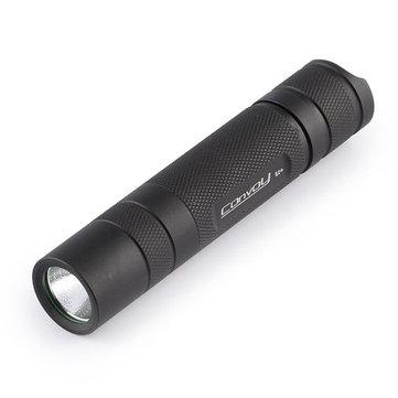 Convoy S2+ Black XM-L2 7135x8 3/5mode EDC LED Flashlight 18650