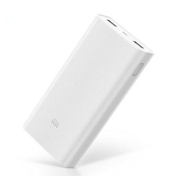 Original Xiaomi 2C 20000mAh Quick Charge 3.0 Polymer Power Bank 2 Dual USB Output