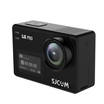 SJCAM SJ8 PRO 4K 60fps Action Camera Dual Screen Sport Camera DV EIS WiFi Ambarella H22 Chipset Small Box
