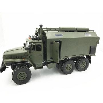 WPL B36 Ural 1/16 Kit 2.4G 6WD Rc Car Military Truck Rock Crawler No Battery Transmitter Charger