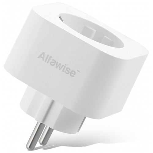 Alfawise Smart Plug EU Standard Works with Alexa Google Home