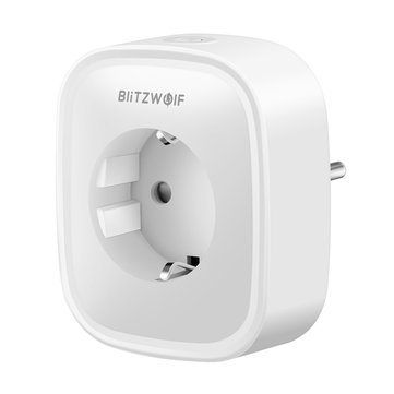 BlitzWolf® BW-SHP2 Smart WIFI Socket EU Plug 220V 16A Work with Amazon Alexa Google Assistant Compatible with BlitzWolf APP