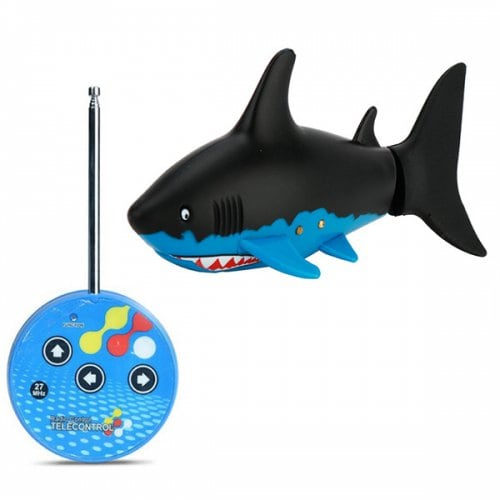 Magical RC Shark Toy Remote Control Underwater Boat for Children