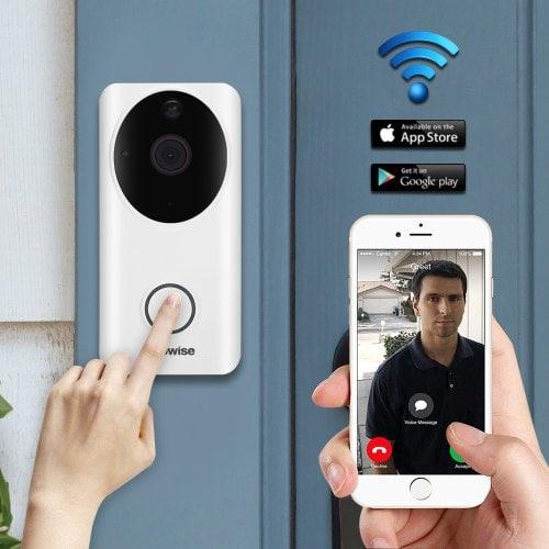 Alfawise L9 Wireless Intelligent WiFi Video Doorbell - EU raktár