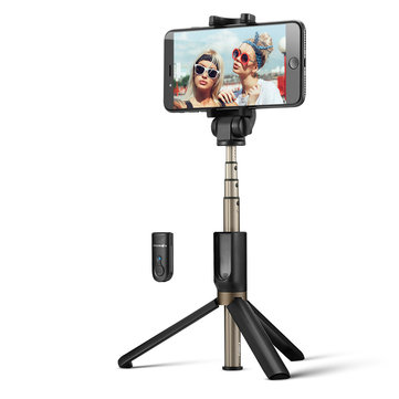 BlitzWolf BW-BS3 Versatile 3 in 1 bluetooth Tripod Selfie Sticks for iphone 8 8 Plus iphone X