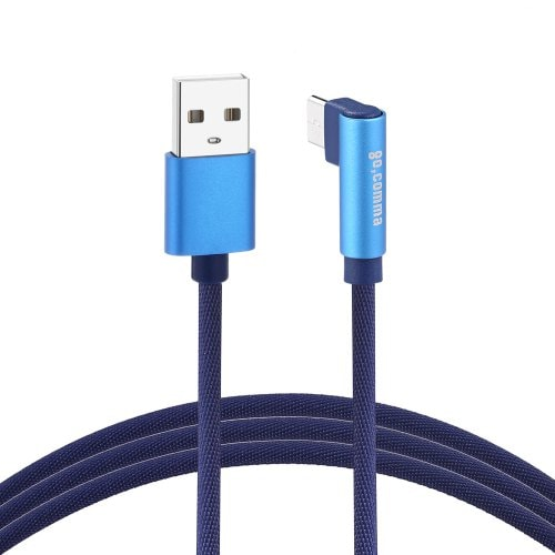 Gocomma Type-C Jeans Braided 2A USB Cable 1m