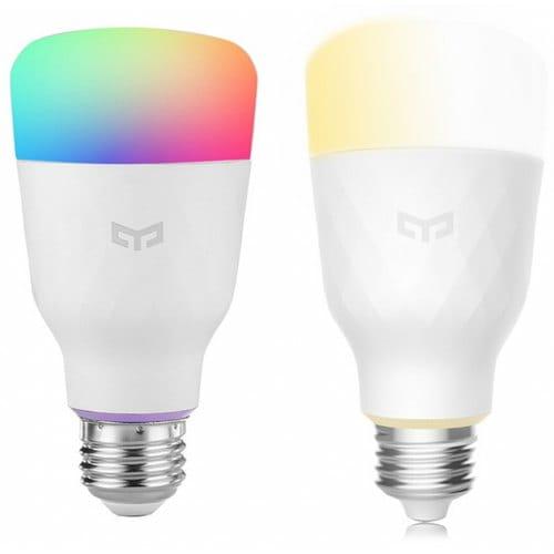 Yeelight E27 Wireless WiFi Control Smart Light Bulb 2PCS