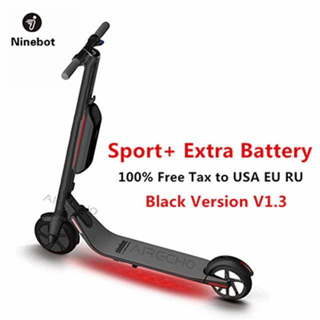 2018 Ninebot Segway KickScooter ES4/ES2 Smart Electric Kick Scooter foldable lightweight board hoverboard skateboard hover board