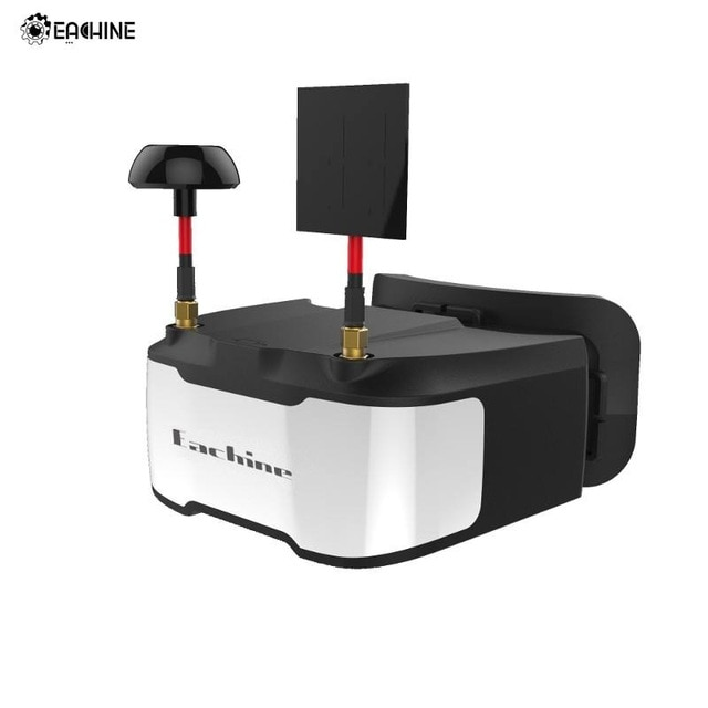 Eachine VR D3 FPV Goggles 3 Inch 5.8G 40CH Diversity Object Distance Adjustable DVR Built in Battery
