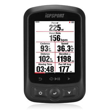 IGPSPORT IGS618 Bluetooth Wireless Bike Computer Backlight IPX7 Waterproof Cycling Speedometer