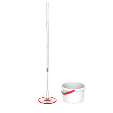 XIAOMI YIJIE 4PCS Rotating Mop Sets Bendable & Design Handheld Floor Mopping Waterwheel Cleaning System