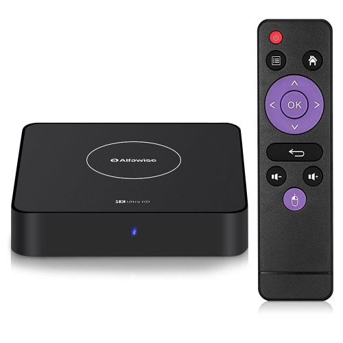 Alfawise A8X Android 9.0 3D TV BOX