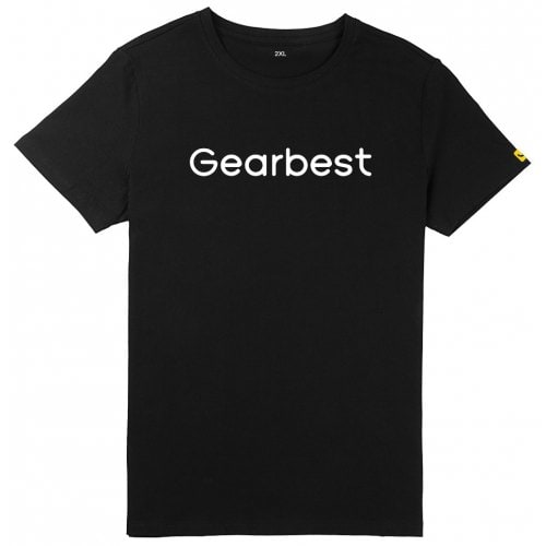 Gearbest Fifth Anniversary Men Short Sleeve T-shirt