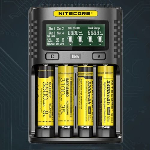 NITECORE UM4 Intelligent USB Battery Charger