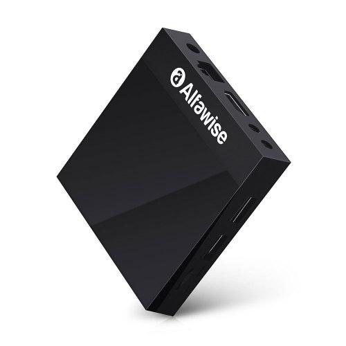 Alfawise A9 4K Amlogic S905 Android 8.1 Smart Internet TV Box Mediabox