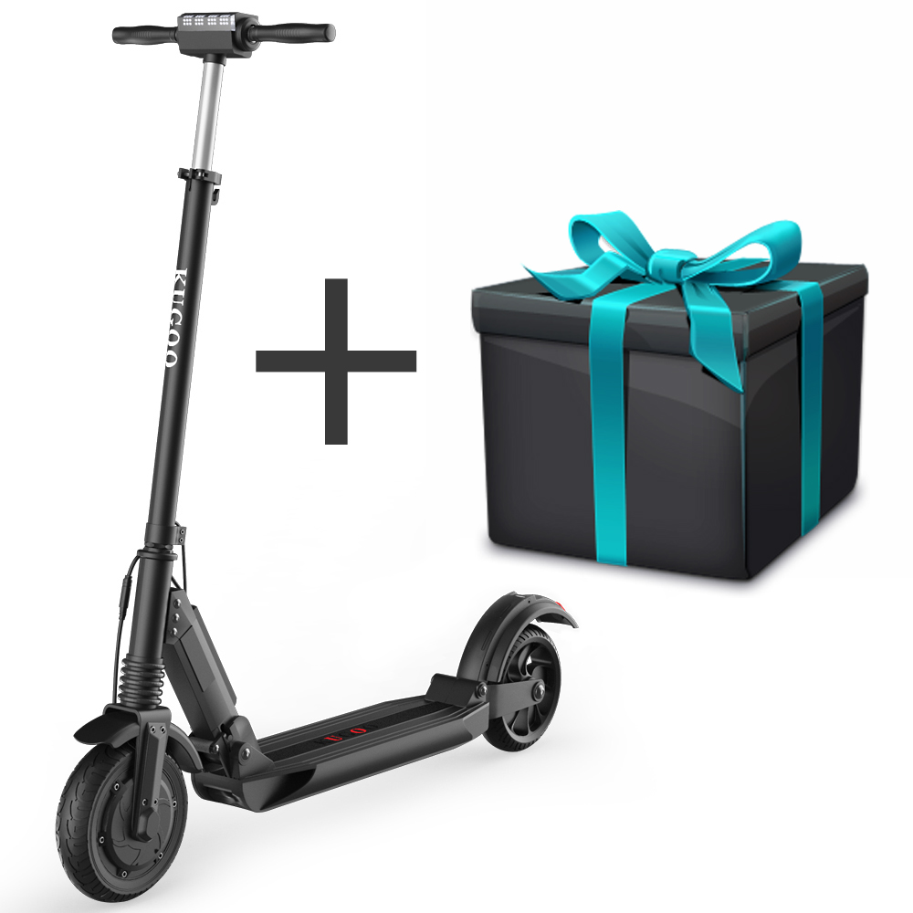 KUGOO S1 Folding Electric Scooter +Safety Gear Kit