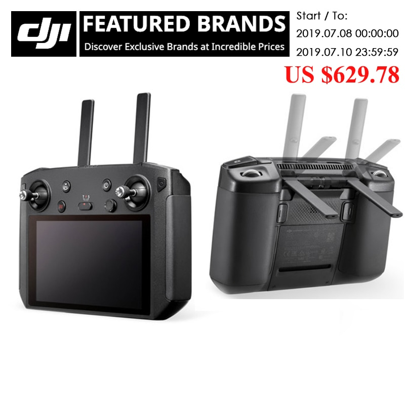 DJI Smart Controller for DJI Mavic 2 Pro/Mavic 2 Zoom with OcuSync 2.0 ultra bright screen original in stock