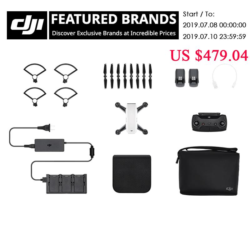 DJI Spark fly more combo drone 1080P HD Camera Drones five colors original in stock