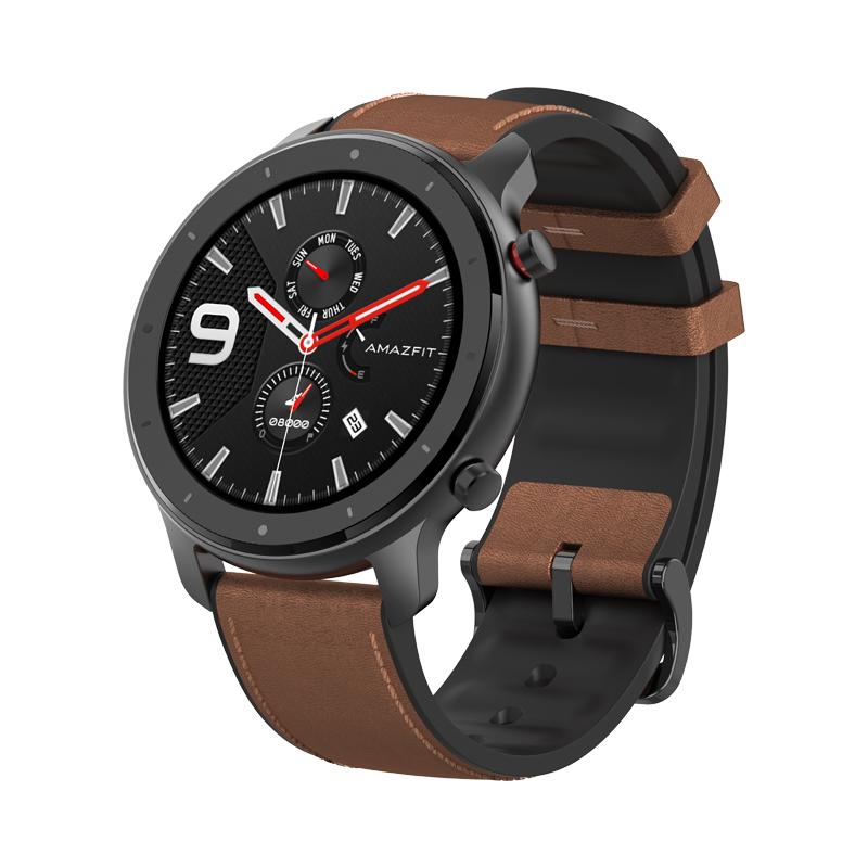 Huami AMAZFIT GTR Smartwatch 1.39 Inch Retina Display 5ATM Water Resistant GPS 47mm Global Version- Aluminum Alloy
