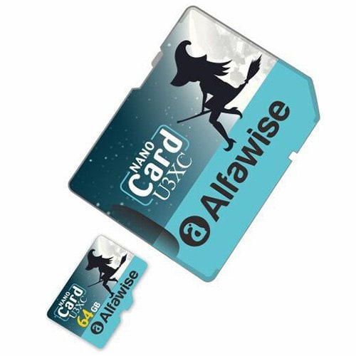 Alfawise Limited Edition Halloween High Speed 2 In 1 64GB Micro SD Card Pack