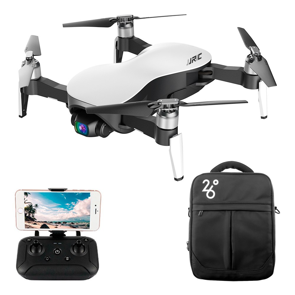 JJRC X12 AURORA 5G WIFI 1.2km FPV GPS Foldable RC Drone With 1080P 3Axis Gimbal Ultrasonic Optical Flow Positioning RTF - One Battery With Bag