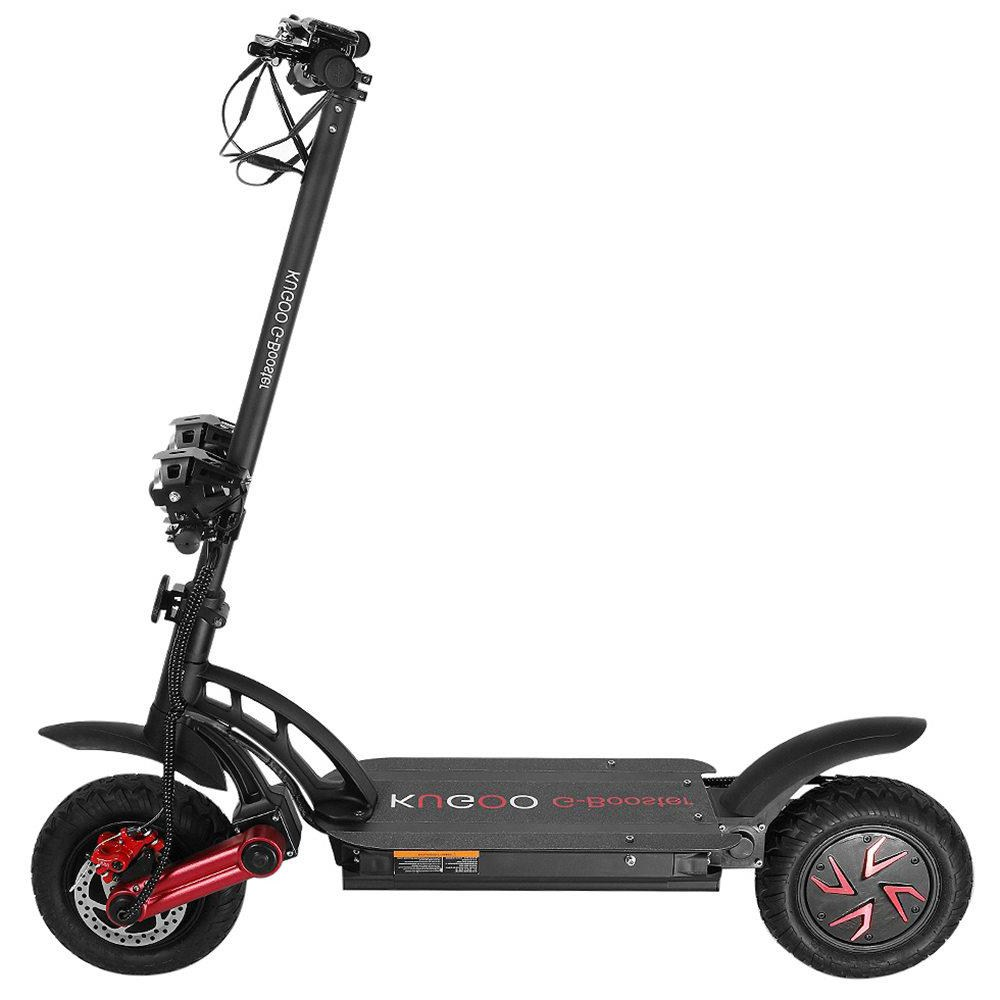 KUGOO G-BOOSTER Folding Electric Scooter Dual 800W Motors 3 Speed Modes Max 55km/h 10 Inch Tire - Black