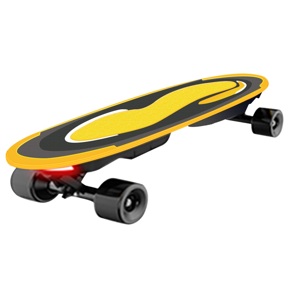 TALU TL-C001 Mini Hands-free Electric Skateboard Body Sense 70mm Detachable Tires 100W Brushless Hub Motor LG 77.83WH Battery Max 15km/h Speed Up to 10km Range Body Control For Kids - Yellow