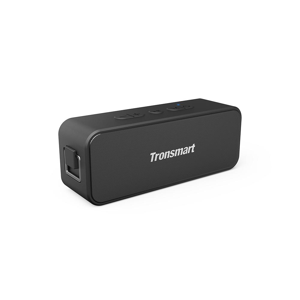 Tronsmart T2 Plus 20W Bluetooth 5.0 Speaker 24H Playtime IPX7 Waterproof Soundbar with TWS,Siri,Micro SD