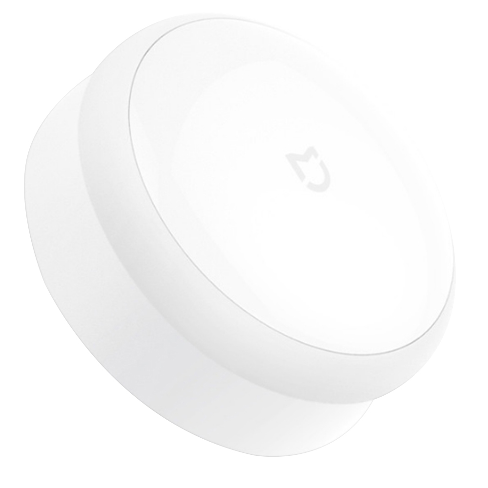 Xiaomi Mijia Smart Night Light IR Sensor PIR Motion Sensor Ultra-thin Lens ABS Material Photosensitive Light Global Version - White
