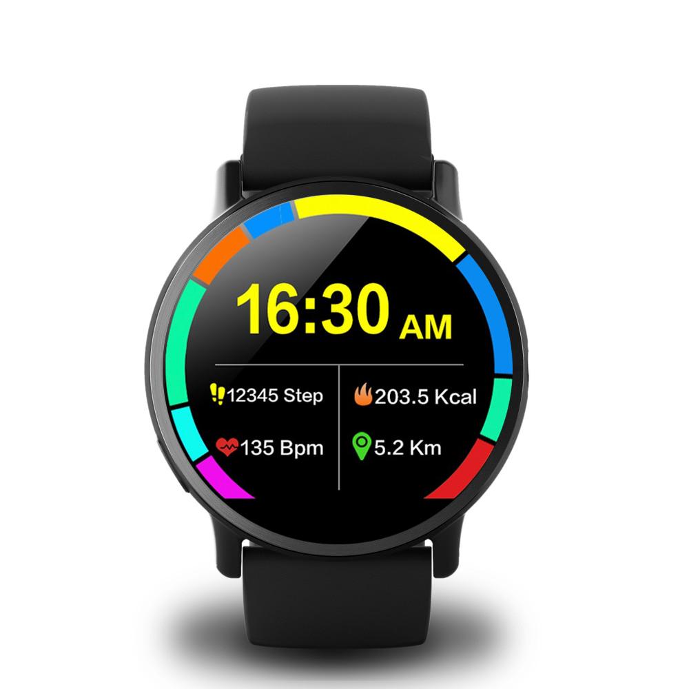 Makibes G3 4G Smartwatch Phone Android 7.1 MTK6739 Quad Core 1GB RAM 16GB ROM 2.03 Inch Screen 8MP Camera GPS WiFi - Black