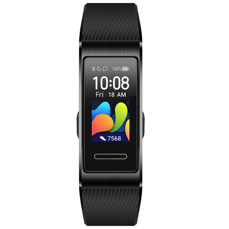 Huawei Band 4 Pro Smart Bracelet 0.95 Inch AMOLED Screen 5ATM Waterproof Built-in GPS Heart Rate Sleep Monitor - Black