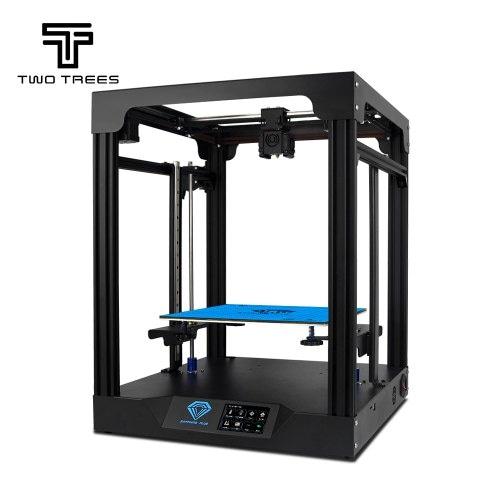 Two Trees Sapphire Plus Metal 3D Printer 3.5 inch Touchscreen Linear Guide_Core XY_TMC2208 Driver