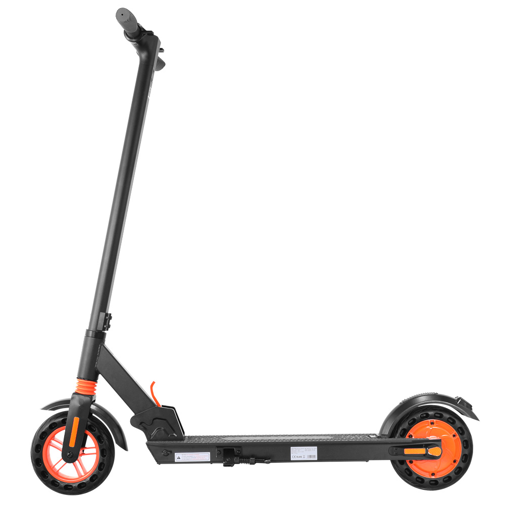"""KUGOO KIRIN S1 Electric Scooter 8"""" Tires 350W DC Brushless Motor With 3 Speed Control Max Speed 25km/h Up To 25km Range Dual Braking System APP Control - Black"""