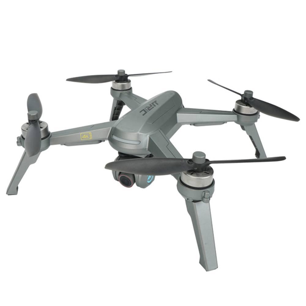 JJRC X5P EPIK+ 5G WIFI GPS 4K HD Camera RC Drone 20mins Flight Time Follow Me Mode Black - Two Batteries with Bag