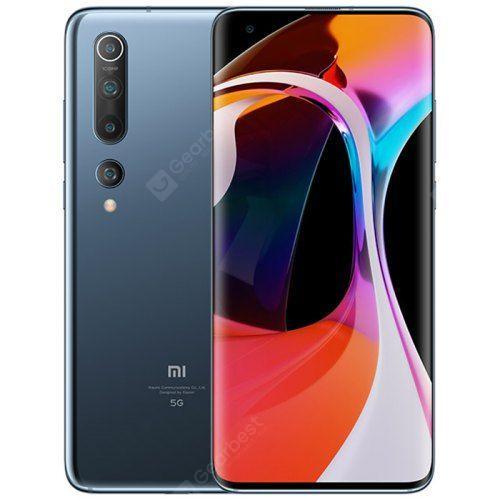 Xiaomi Mi 10 6.67 Inch 5G Smartphone Snapdragon 865 X55 Octa Core 108MP Penta Camera 4780mAh Battery Global Version