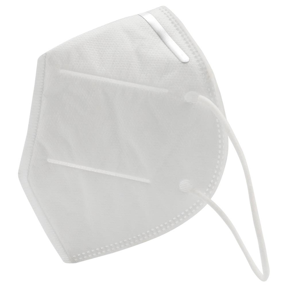 2PCS/Pack 4 ply KN95 Disposable Masks For Germ Protection With CE FDA Certified Anti Virus White - 1 pack