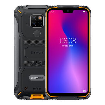 DOOGEE S68 Pro Global Version 5.9 inch FHD+ IP68 Waterdrop 6300mAh NFC 6GB 128GB Helio P70 4G Smartphone