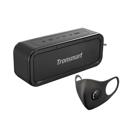 Tronsmart Force SoundPulse™ 40W Bluetooth 5.0 Speaker with Free Smartmi KN95 FFP2 Reusable Sponge Face Mask Size M