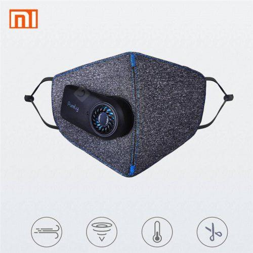 Xiaomi mijia Purely Anti-Pollution Air Face Mask with PM2.5 550mAh Battreies Rechargeable Filter
