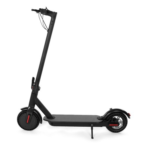 e4 8.5 inch foldable and portable Electric Scooter Load 100Kg-Black