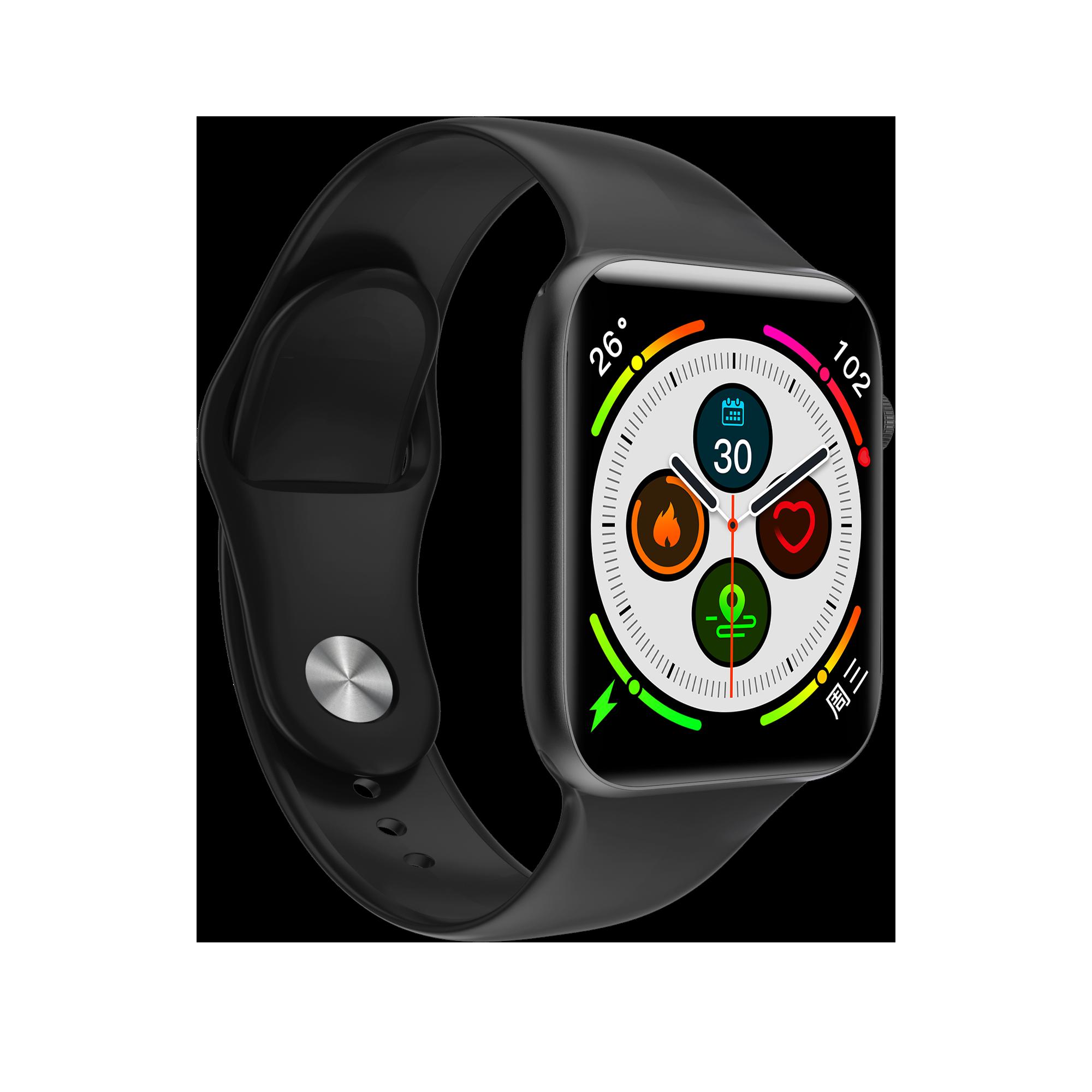 Fobase Air Zone 2 Heart Rate Monitor 8.99mm Super Slim IP68 WaterProof 1.54 inch Bluetooth 5.0 Smart Watch Smart Watches  - AliExpress