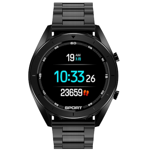 DTNO.1 DT99 Smart Watch 1.2 Inch Full Touch Heart Rate Monitor Waterproof