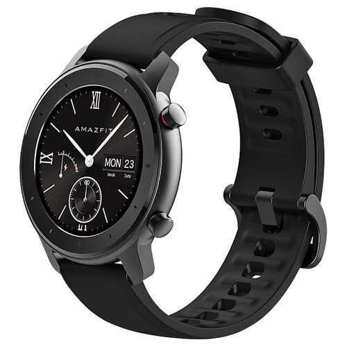 Xiaomi AMAZFIT GTR Smartwatch 1.2 Inch AMOLED Display 5ATM Water Resistant GPS 42mm Global Version - Black