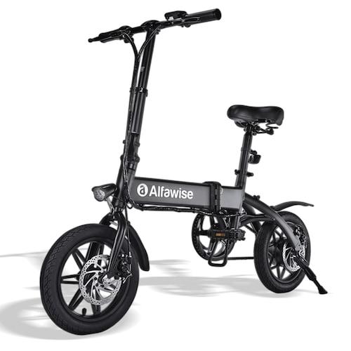 Alfawise X1 Folding E-bike Bicycle Electric Bike with 250W Motor 25km/h Speed