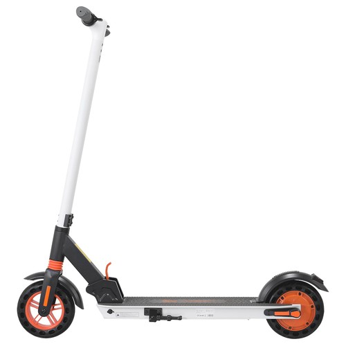 """KUGOO KIRIN S1 Electric Scooter 8"""" Tires 350W DC Brushless Motor With 3 Speed Control Max Speed 25km/h Up To 25km Range Dual Braking System APP Control - White"""