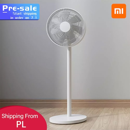 New XIAOMI MIJIA SMARTMI Standing Floor FanDC Pedestal Standing portable Fans Air Conditioner Natural Wind