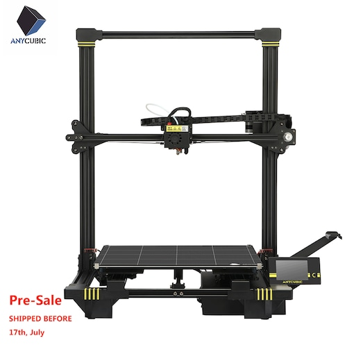 Pre-sale ANYCUBIC Chiron 3D Printer Plus Size TFT Auto-leveling Facesheild 3d Titan Extruder Dual Z Axisolor