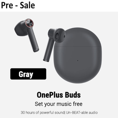 Pre-sale Oneplus Buds Bluetooth Headset Earphones Oneplus Earbuds